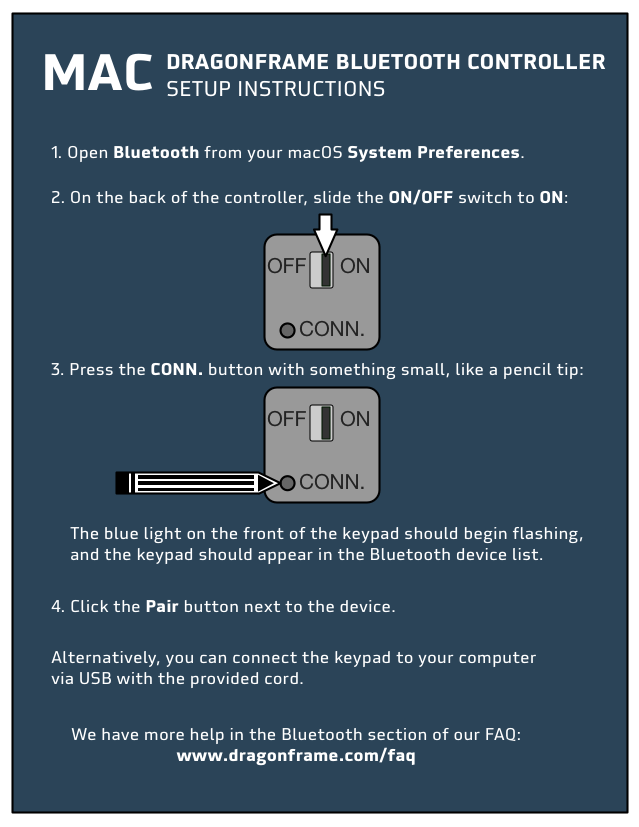 Mac BT Controller Setup Guide