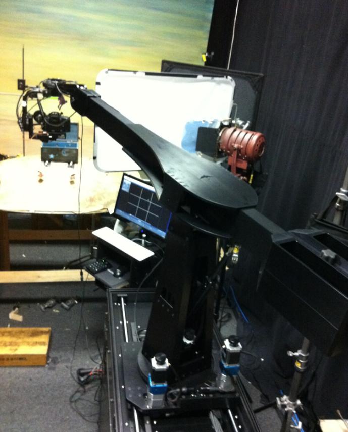 Dragonframe and the Volo motion control crane - Dragonframe