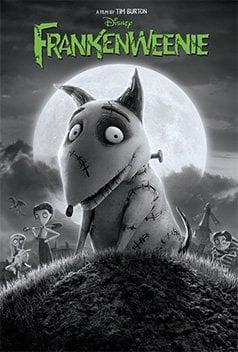 Tim Burton Frankenweenie stop motion film