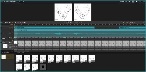 Dragonframe for Mac full screenshot