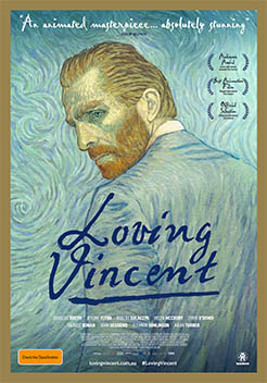 Loving Vincent painted stop motion
